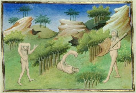 Blemmyes: The Headless Men of Ancient and Medieval