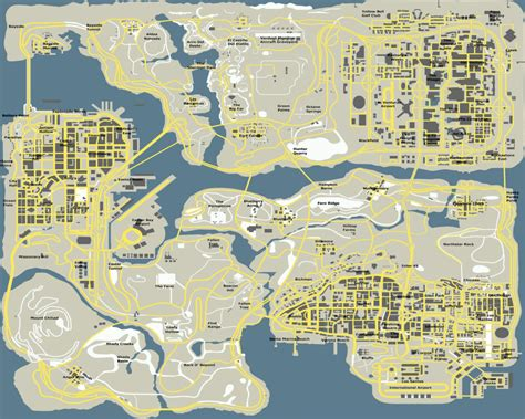 Gta SA Map in Google Maps style - Archiv - -  German