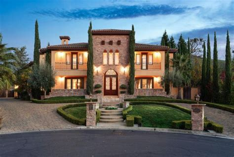 Tuscan Style Home In Alamo, California | Homes of the Rich