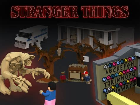Lego Stranger Things | A rejected Lego Ideas Project