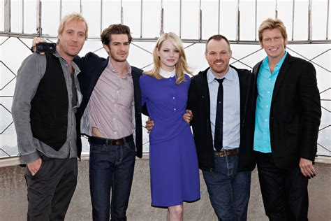 """Denis Leary in """"The Amazing Spider-Man"""" Cast Visit The"""