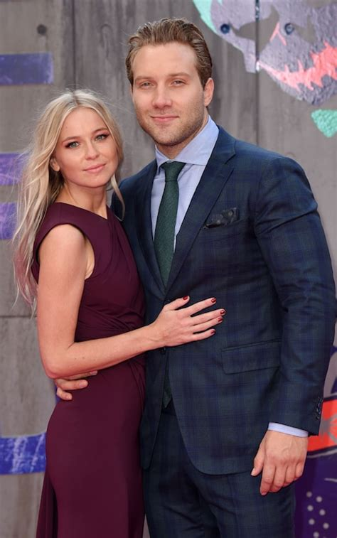 Jai Courtney, who plays Captain Boomerang, with his