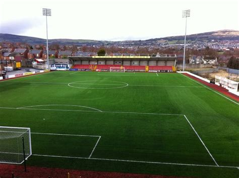 Cliftonville FC's pitch meets FIFA 2-star standard 8 years