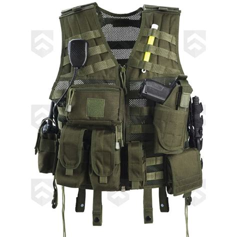 Gilet Tactique MOLLE TOE Pro Vert OD - General Army Store