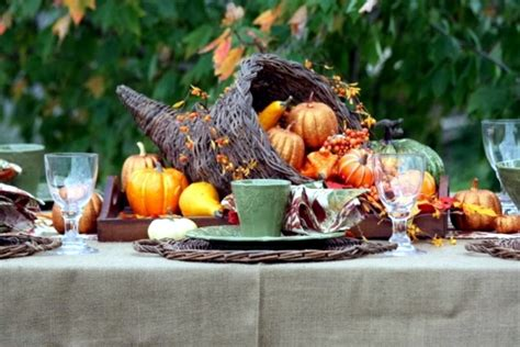 30 ideas for autumn table decoration with pumpkins for