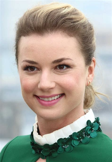 Emily VanCamp at The Resident Photocall at NBC Universal