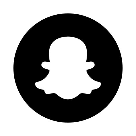 Snapchat, rounded, solid Icon Free of Rounded Solid Social