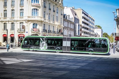 Keolis operates a new BRT in Amiens - Sustainable Bus