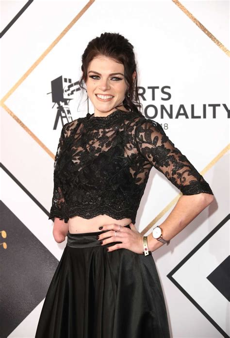 Lauren Steadman Attends 2018 BBC Sports Personality of the