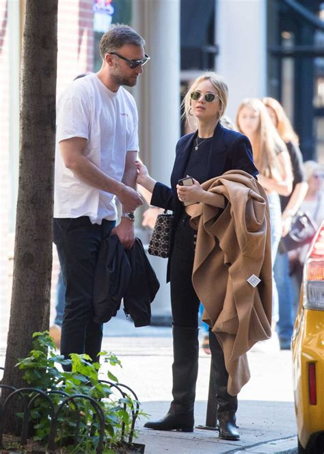 Jennifer Lawrence Was Seen Out with Cooke Maroney in NY 10