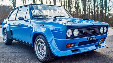 Fiat 131 Abarth I Successful rally car of the Group 4