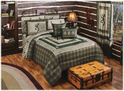 Browning Panel Bedding Collection Comforter Set   Bass Pro
