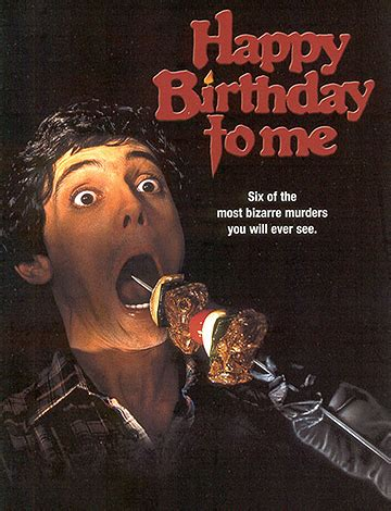 Happy Birthday To Me (1981) | Le Blog Horreur