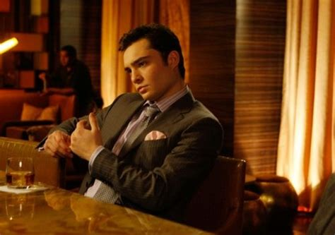 Chuck Bass is on me…