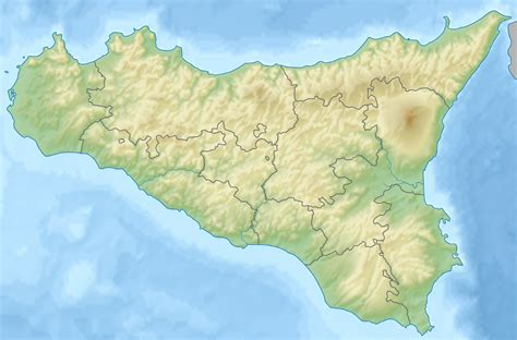 File:Relief map of Italy Sicily crop