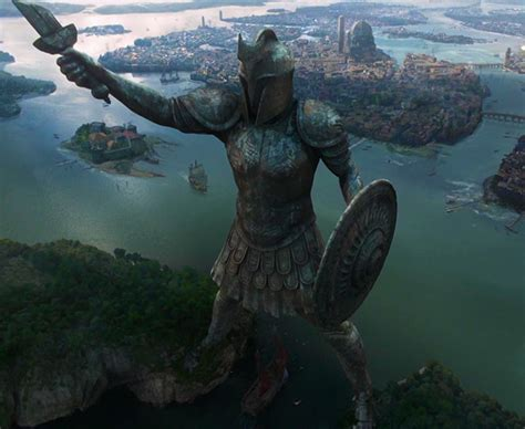 7 Giant, Ominous Statues from Movies & TV
