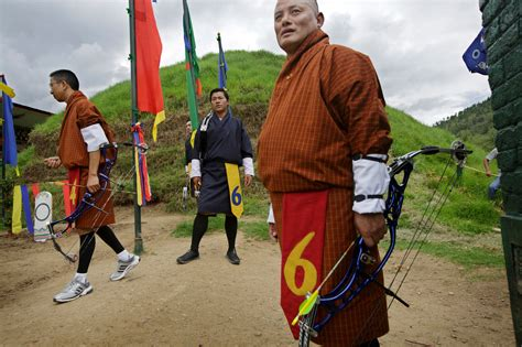 Archery Gives Bhutan Its Sporting Chance - NYTimes