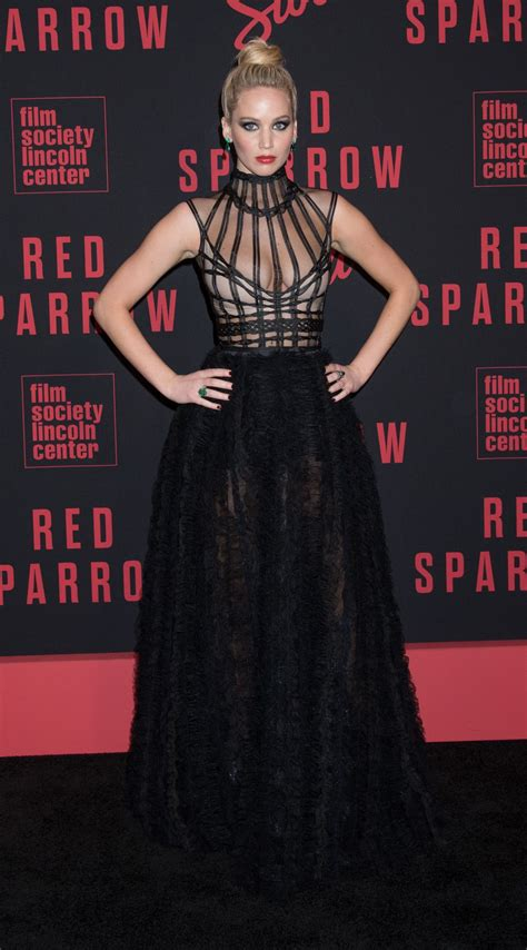 """Jennifer Lawrence - """"Red Sparrow"""" Premiere in NYC"""