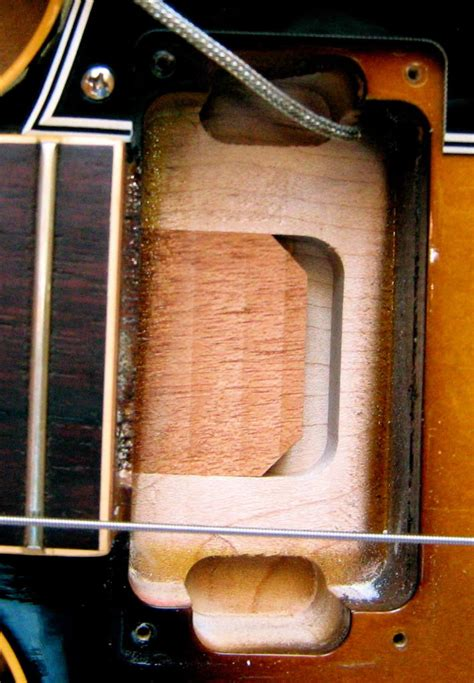 The Gibson ES-335 » Blog Archive » The Mysterious Neck Tenon