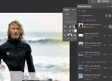 Creative Cloud for enterprise and Adobe Experience Manager