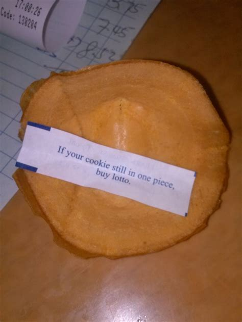My fortune cookie unfolded and presented me with this