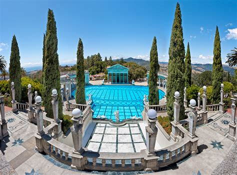 Neptune Pool at Hearst Castle | This is a panorama I made