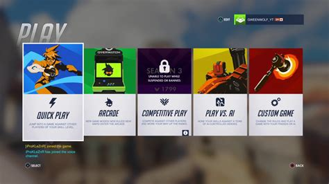 Overwatch: Banned from competitive :( - YouTube