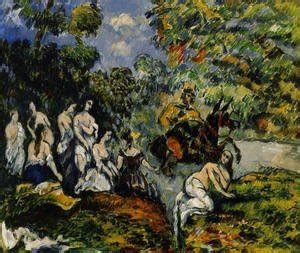 Paul Cezanne - The Complete Works - Large Pine And Red